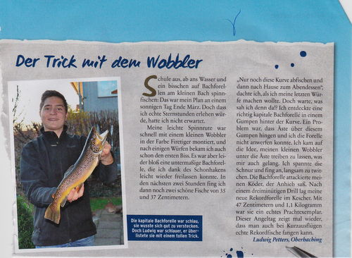 Ludwig Petters in Fisch und Fang